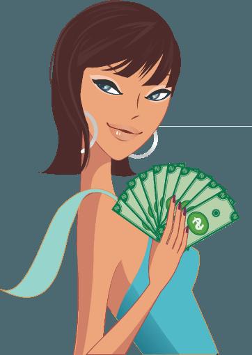 Модели получила свою первую зарплату