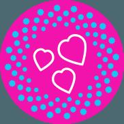 Сердечки для вебмоделей