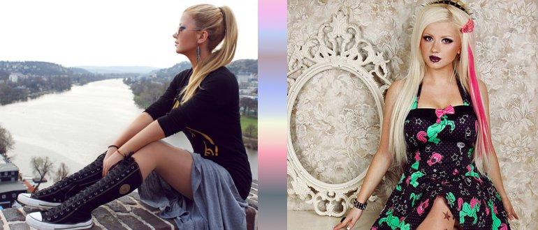 Вебмодель блондинка