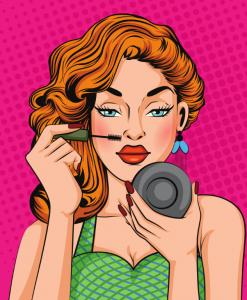 Секреты модели: делаем глаза выразительными