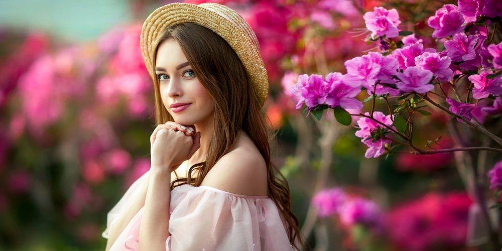 девушка с красивым ником