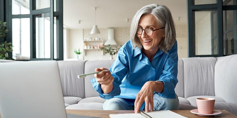 работа для пенсионеров на дому